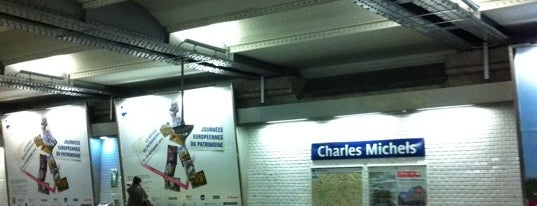 Métro Charles Michels [10] is one of Went before.