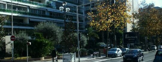 Boulevard Carnot is one of Cannes.