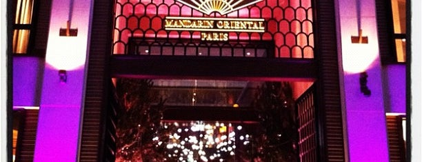 Mandarin Oriental Paris is one of Paris bars.