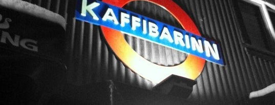 Kaffibarinn is one of Island.