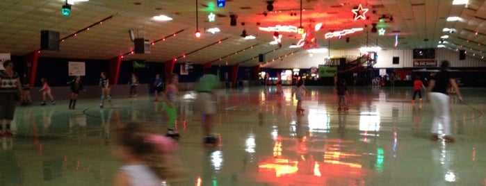 Playland Skate Center is one of Austin Activities.