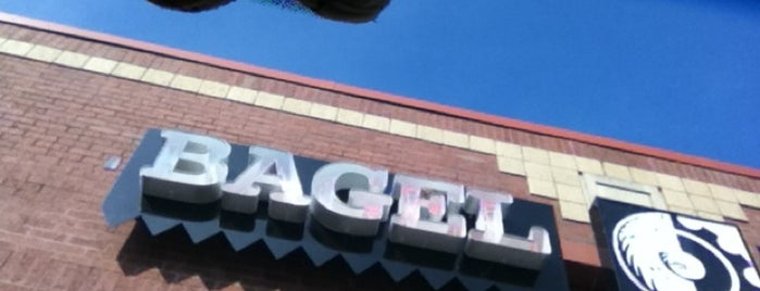 Bagel Factory is one of Kim's Saved Places.