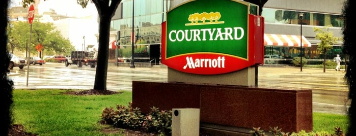 Courtyard Grand Rapids Downtown is one of Grandwich Venues.