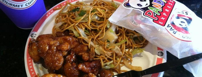 Panda Express is one of Lugares favoritos de Annette.