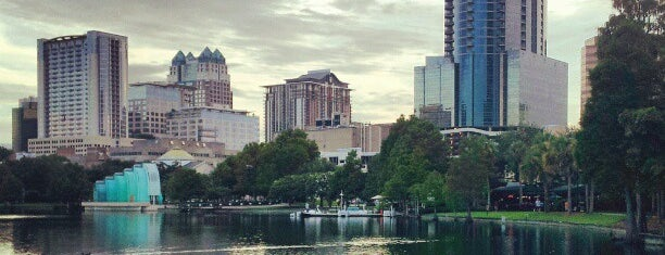 Lake Eola Park is one of Orlando.