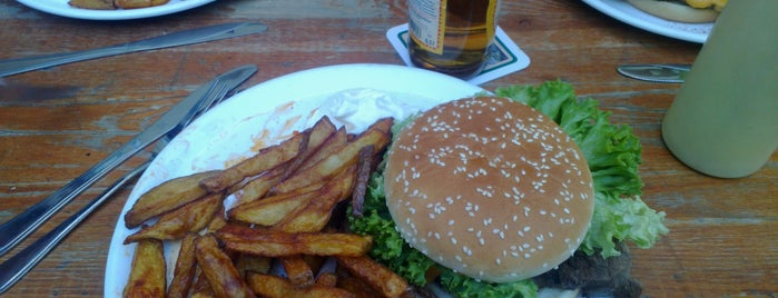 Room 77 is one of Berlins Best Burger.
