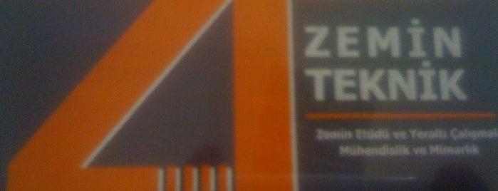 Zemin Teknik is one of iş.