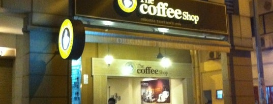 The Coffee Shop is one of Kopi Places.