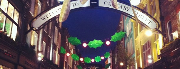 Carnaby Street is one of Cool things to do in London.