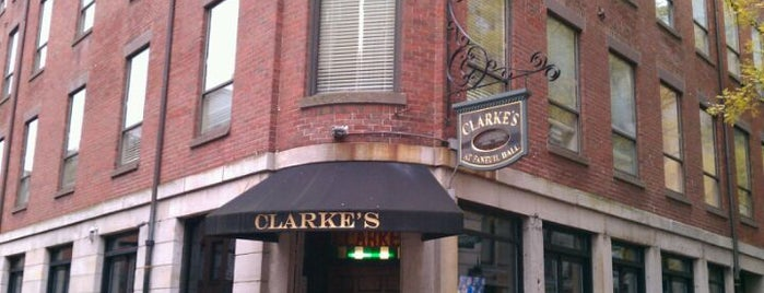 Clarke's Turn of The Century is one of Tempat yang Disukai Thomas.