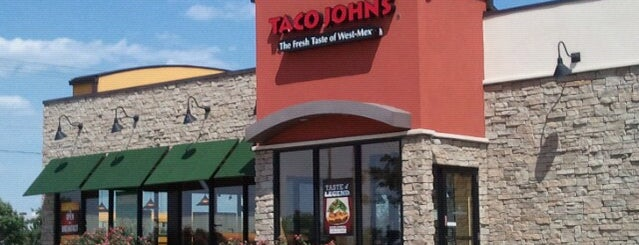 Taco John's is one of สถานที่ที่ Stephen ถูกใจ.