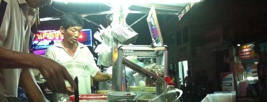 Hủ tiếu bò viên is one of ăn hàng.
