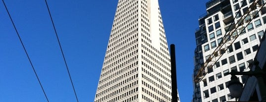 Transamerica Pyramid is one of mylifeisgorgeous in San Francisco.
