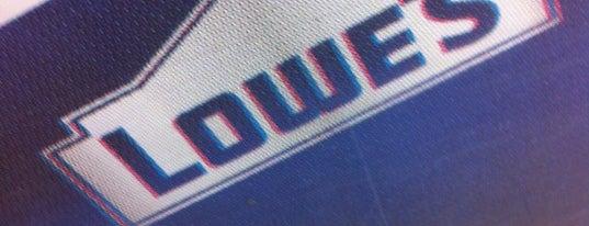 Lowe's is one of Bill'in Beğendiği Mekanlar.