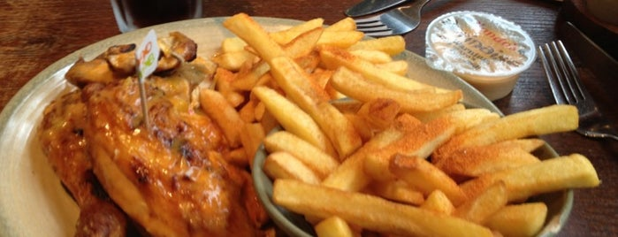 Nando's is one of 1001 reasons to <3 London.