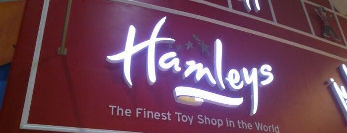 Hamleys is one of Lugares favoritos de Salim.