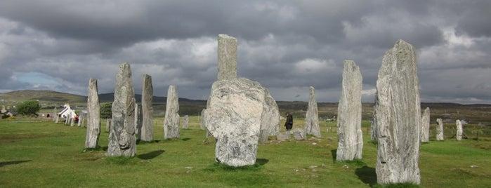 Callanish Standing Stones is one of Scotland.