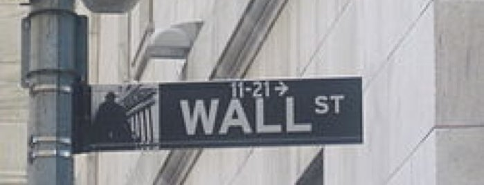 Wall Street is one of Orte, die David gefallen.