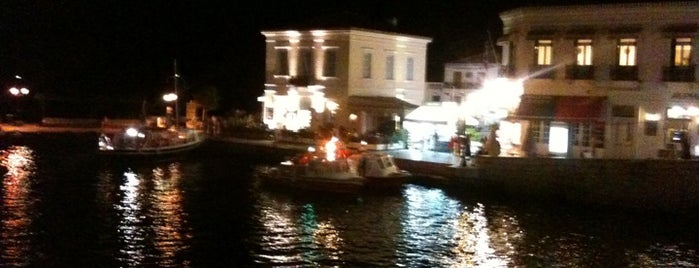 Dapia Porto Cafe is one of Spetses Island.
