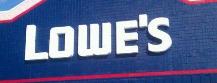 Lowe's is one of Joel 님이 좋아한 장소.