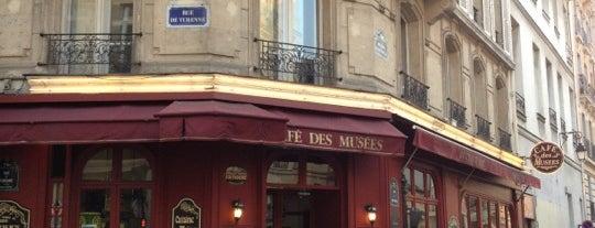 Café des Musées is one of Paris Eating.