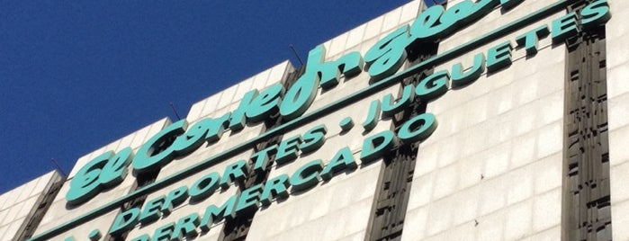 El Corte Inglés is one of Madrid.