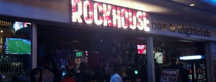 The Rockhouse is one of First List to Complete.
