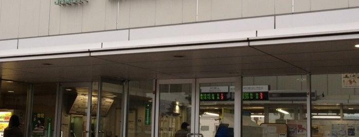 Tsukinoki Station is one of JR 미나미토호쿠지방역 (JR 南東北地方の駅).