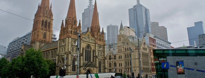 Federation Square is one of Australia and New Zealand.