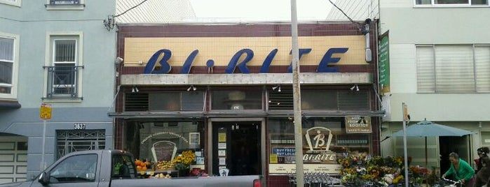 Bi-Rite Market is one of places to return to (1 of 4).