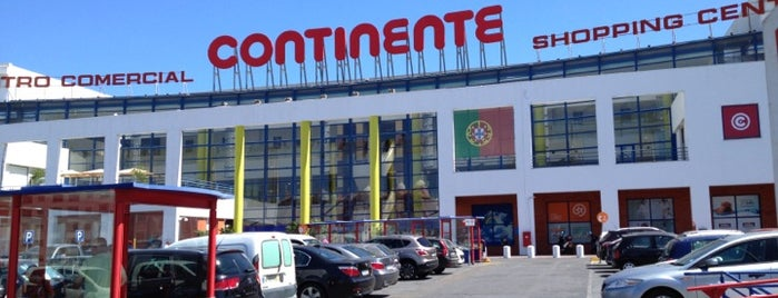 Continente is one of Sonae Sierra Shopping Centers.
