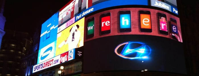 Piccadilly Circus is one of World Sites.