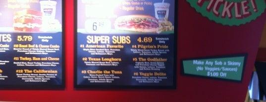 Milio's Sandwiches is one of Tempat yang Disukai Andrew.