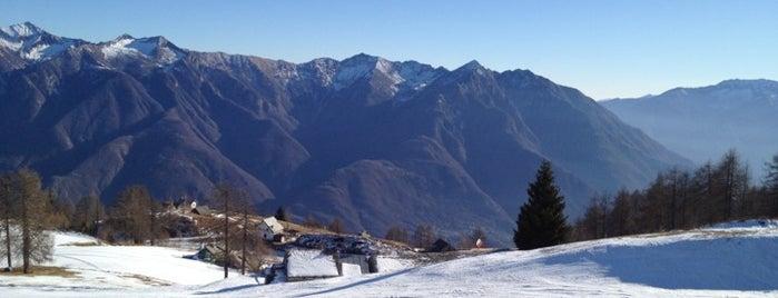 Domobianca is one of Dove sciare.