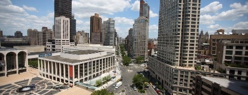 Josie Robertson Plaza (Lincoln Center Plaza) is one of IWalked NYC's Upper West Side (Self-guided tour).