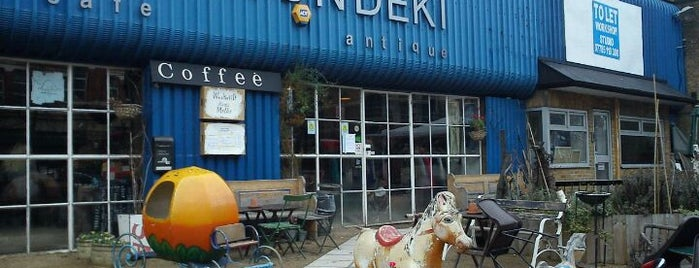 Hurwundeki Cafe is one of east london cafes.