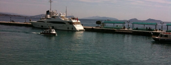 Spetses Port is one of Spetses Island.