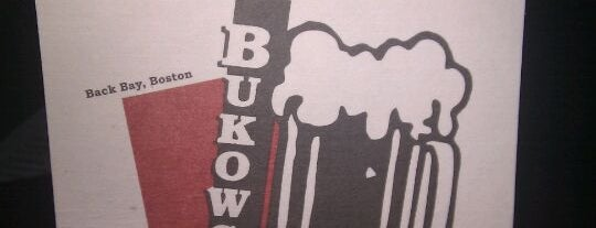Bukowski Tavern is one of 100 Beer Bars to Try.
