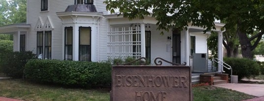 Eisenhower Presidential Library and Museum is one of West Coast Sites.