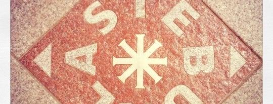 "Plytelė ""Stebuklas"" | ""Stebuklas"" (""Miracle"") tile is one of Vilnius: student edition."