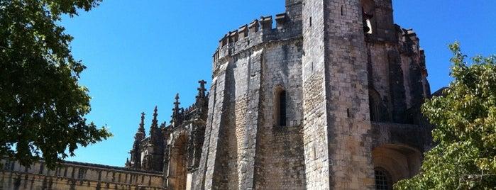 Convento de Cristo is one of Portugal Road trip.