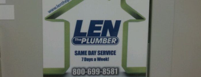 Len The Plumber, LLC is one of City Paper's :Goods & Services: Readers Poll '11.