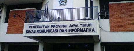 Dinas Komunikasi dan Informatika Provinsi Jawa Timur is one of Government of Surabaya and East Java.