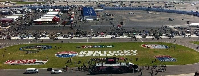 Kentucky Speedway is one of Racetracks Around America.