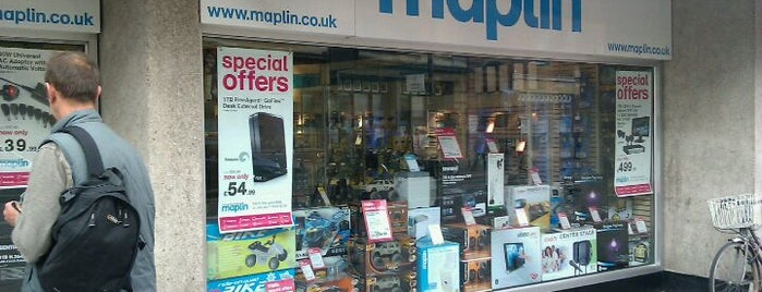 Maplin Electronics is one of Posti che sono piaciuti a Graham.