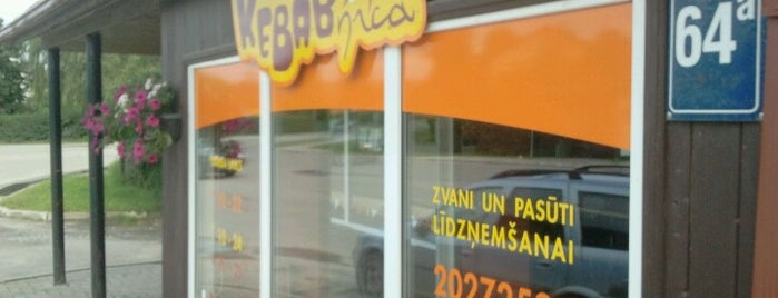 Kebabnīca is one of Valmiera.