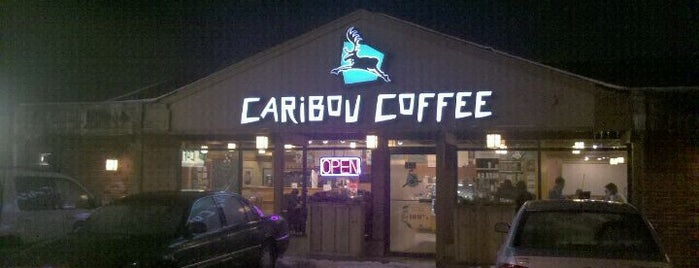 Caribou Coffee is one of Fry's 100 Cups of Coffee Wheaton area.