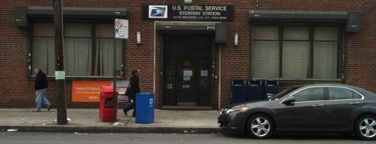 US Post Office - Steinway Station is one of Rugi's New York.