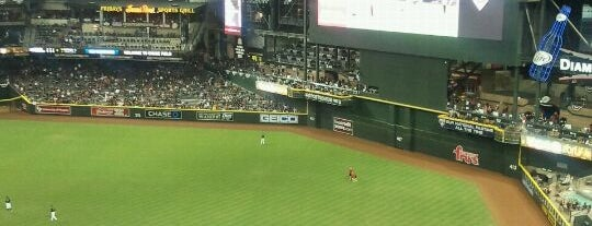 Chase Field is one of Major League Baseball Parks.