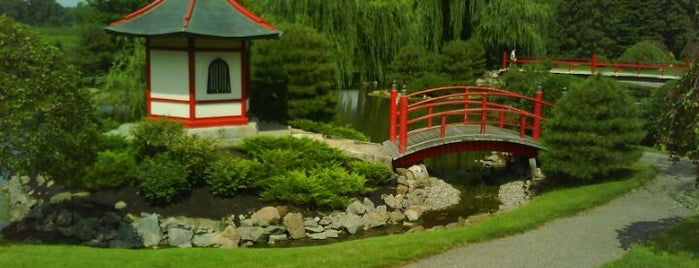 Normandale Japanese garden is one of Around town.